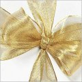 Wired type gift wrap ribbon