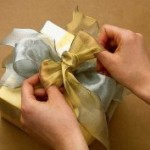 Wire bows make packages look beautiful
